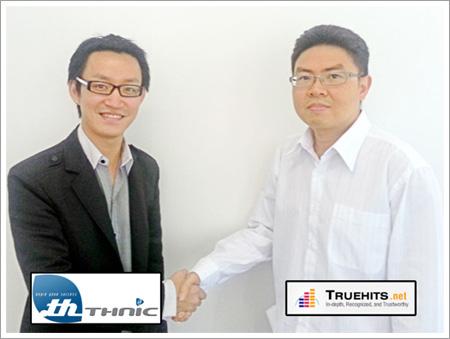 THNIC จับมือ TrueHits สนับสนุนคนไทยใช้บริการของ