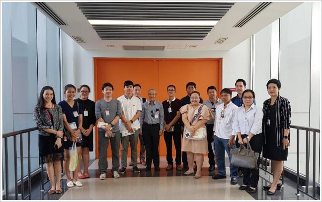 อุทยานวิทยาศาสตร์ประเทศไทยให้การต้อนรับคณะผู้ประกอบการอุตสาหกรรมเกษตรศึกษาดูงาน