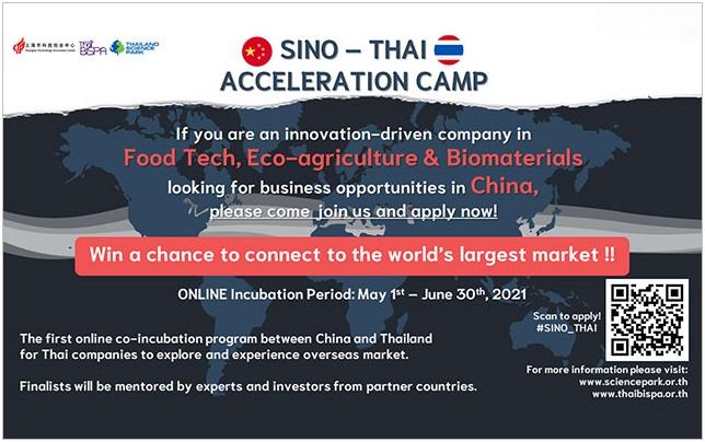 Sino-Thai Acceleration Camp Online