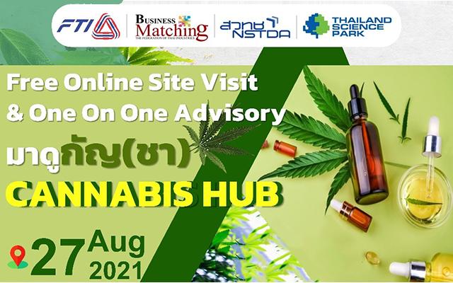Free Online Site Visit & One On One Advisory มาดูกัญ(ชา) CANNABIS HUB